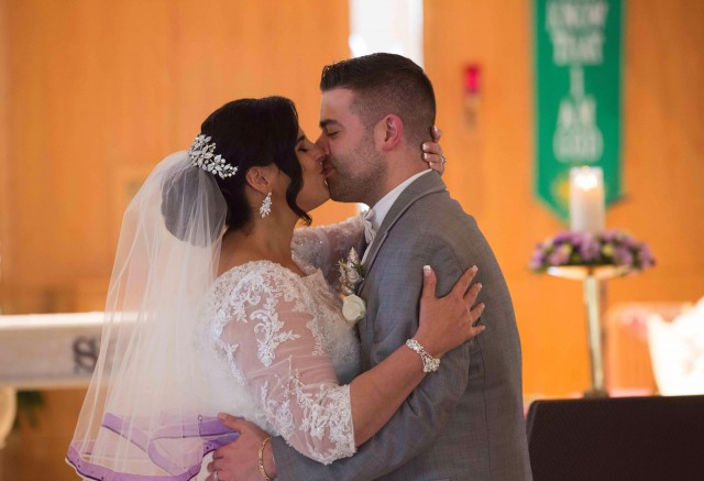 Nicole and Matt, married at St. Luke's on September 30, 2017