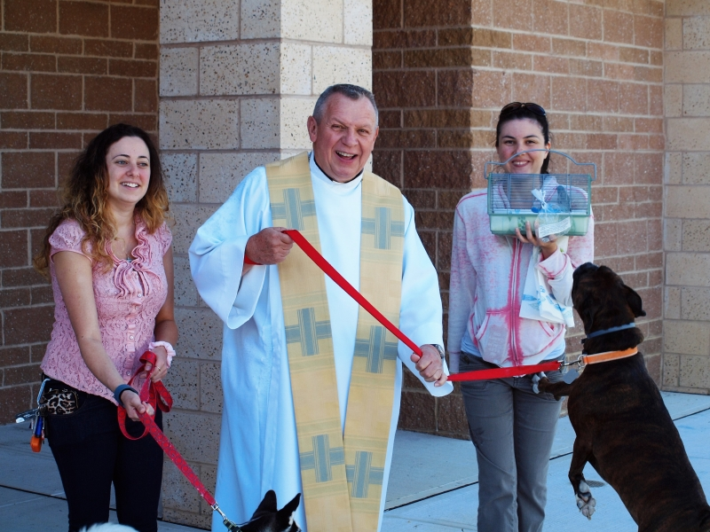 Blessing of the Animals 10-11-2015 047